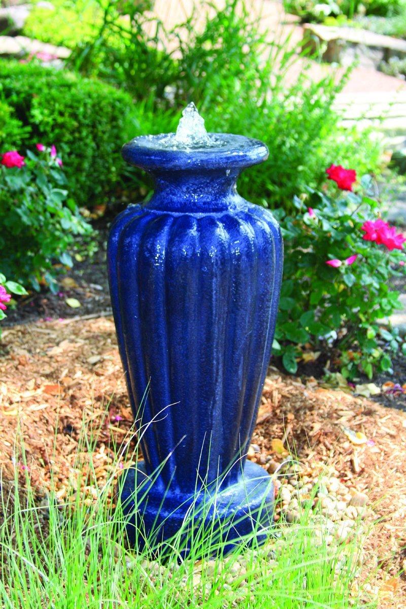 Aquascape Classic Greek Urn Fountain with Pump Slate, Large, Gray by Aquascape