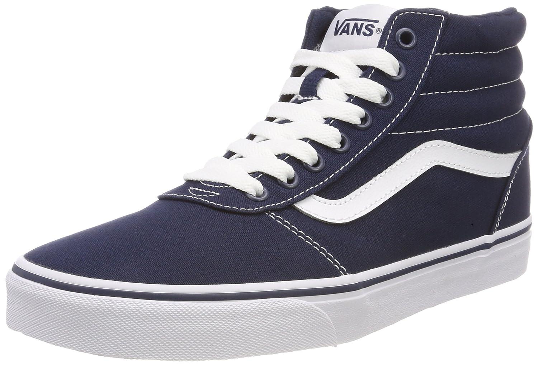 Vans Men s s Ward Canvas Hi-Top Trainers  Amazon.co.uk  Shoes   Bags 3e50d7cf3