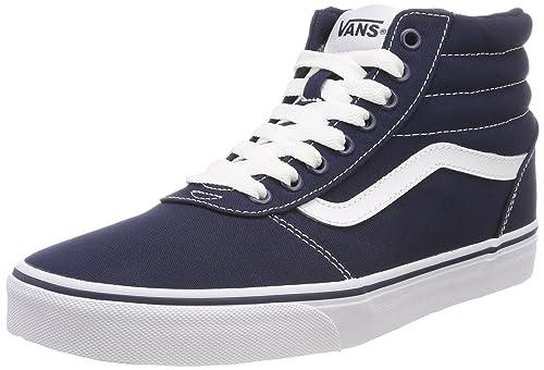 Vans Herren Ward Hi Canvas Hohe Sneaker, Schwarz
