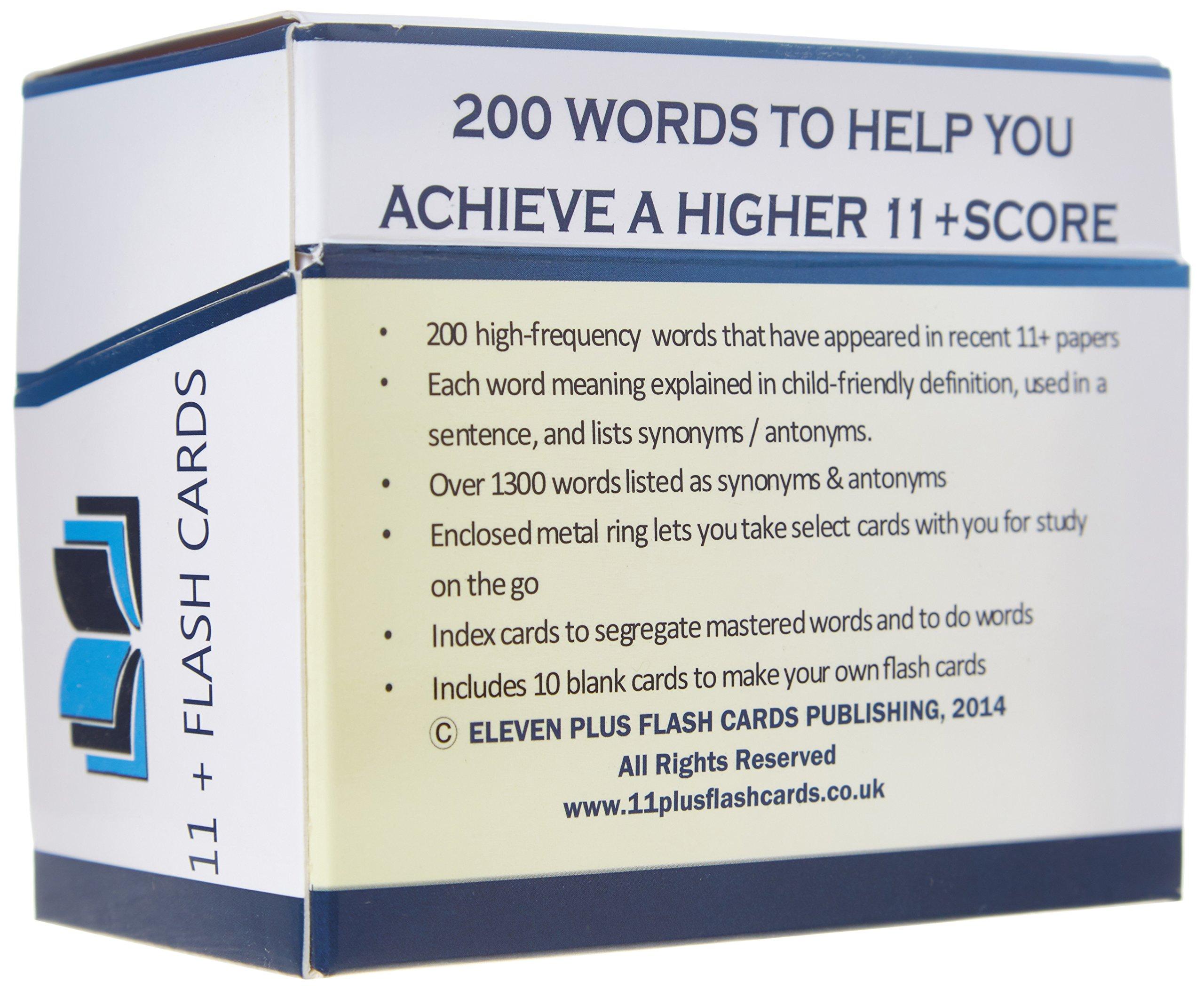 Eleven Vocabulary Plus: Vocabulary Eleven Flash Cards:   : Books 5bf56e