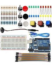 Sintron UNO R3 Light Starter Kit + PDF Study Files for Arduino AVR MCU Learner