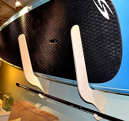 SUP Paddle Board Wall Storage Rack & Amazon.com: SUP Paddle Board Wall Storage Rack: Sports u0026 Outdoors