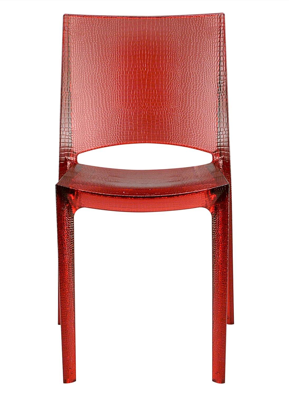 Unbekannt Stuhl Nilo rot Rubin: Amazon.de: Küche & Haushalt