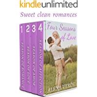 Four Seasons of Love: Sweet, Clean Small-Town Romances