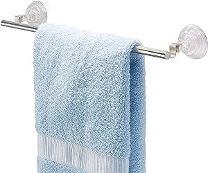 Stainless Steel Power Lock Suction Towel BAR Bathroom 16 inc