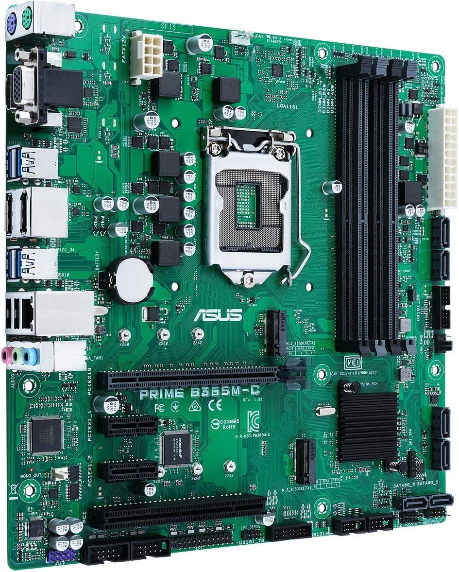 ASUS PRIME B365M-C/CSM scheda madre LGA 1151 (Presa H4) Micro ATX Intel B365