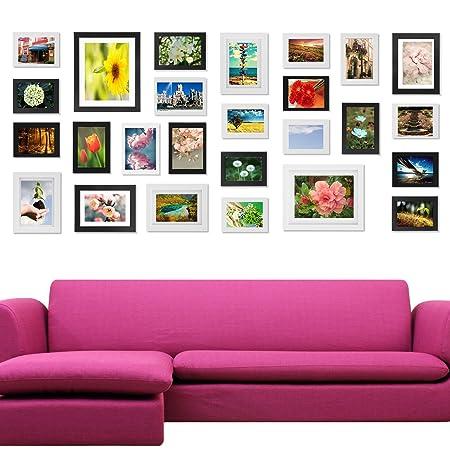 Voilamart 26pc Multi Pack Picture Frames Photo Frame Set DIY Home ...