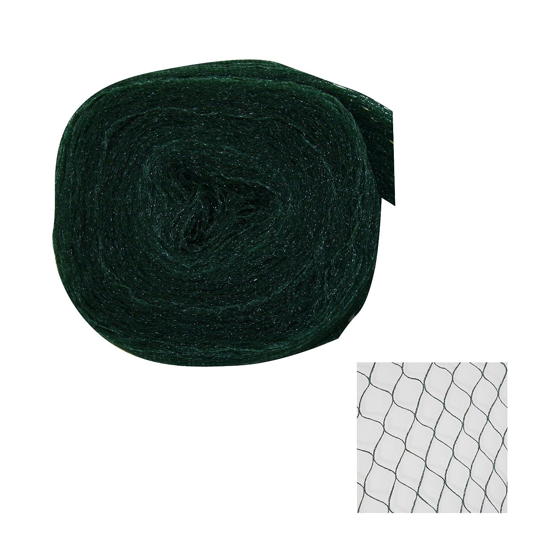 Abdecknetz Netz Schutznetz  olivgrün  Größe 4 m x 15 m  Polyethylen