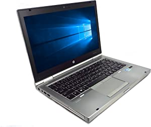 "HP EliteBook 8470p 14"" Laptop PC, Intel Core i5 2.6GHz, 8GB DDR3 RAM, 320GB HDD, Win-10 Pro"