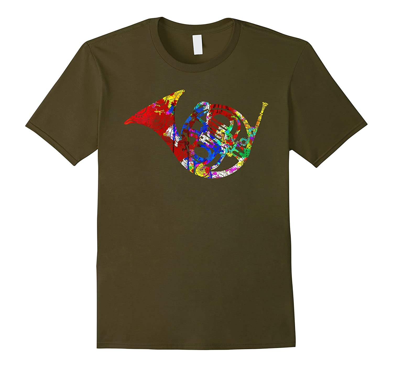 French Horn Shirt - French Horn Tshirt-BN