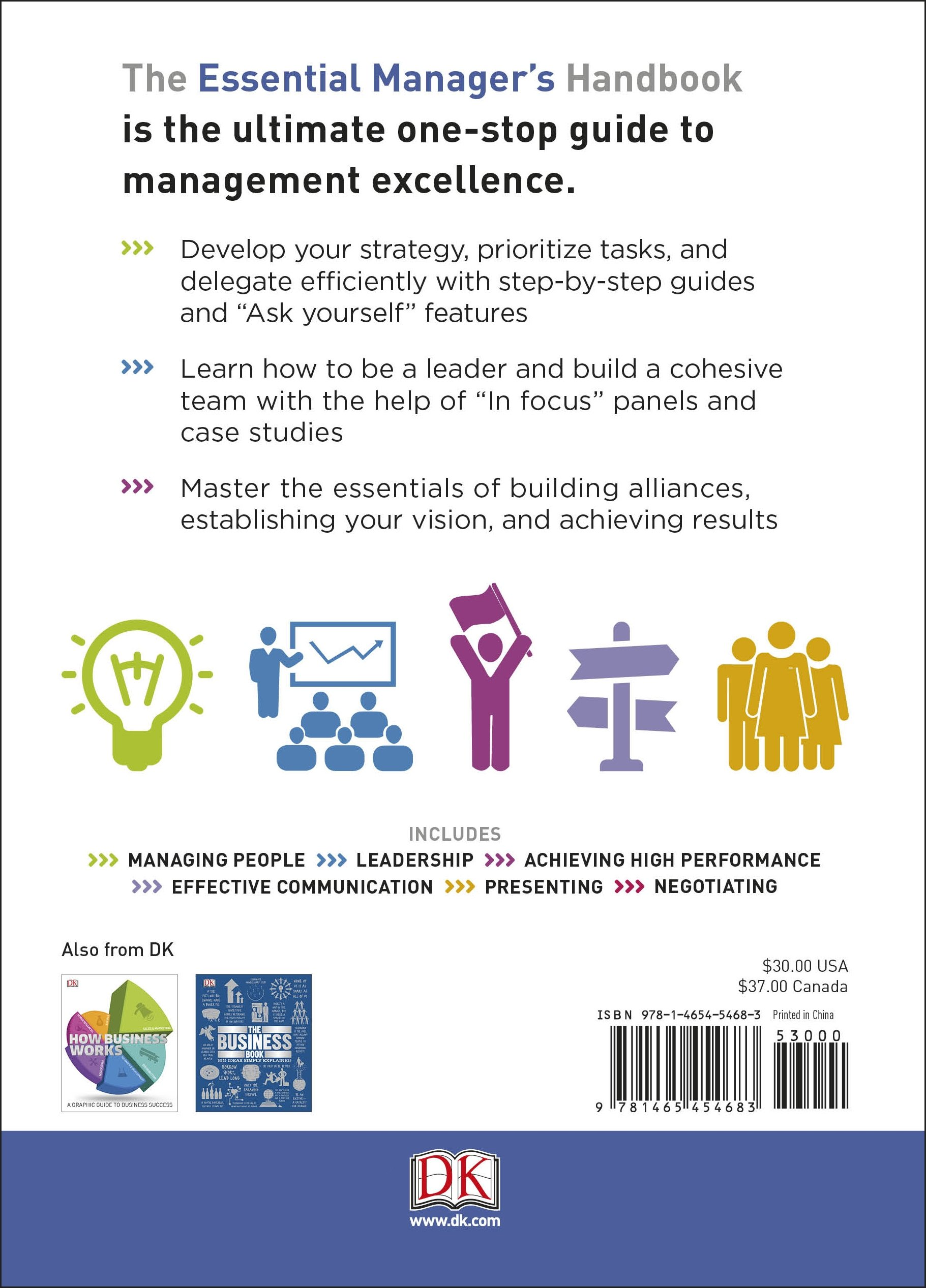 The Essential Manager's Handbook (DK Essential Managers): DK:  9781465454683: Amazon.com: Books