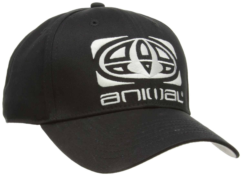4fb7a5e12a8c Animal Men's Magen Baseball Cap, Black, One Size: Amazon.co.uk: Clothing