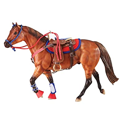 Breyer Traditional Western Riding Set Toy Accessory in Hot Colors: Toys & Games