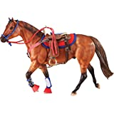 Breyer Traditional Western Riding Set Toy Accessory in Hot Colors