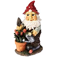 Garden Gnome Statue - Gustav the Garden Gnome - Lawn Gnome