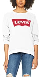 817ce2c39 Levi s Women s Relaxed Graphic Crew Sweatshirt