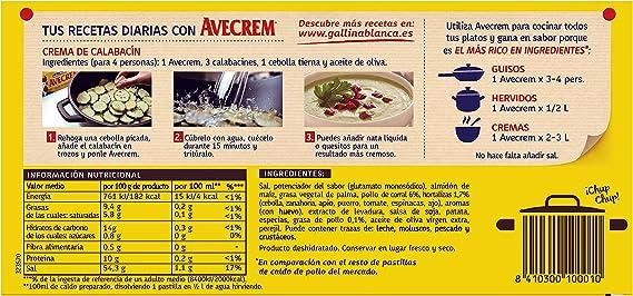 Gallina Blanca Avecrem Caldo de Pollo, 24 Pastillas: Amazon ...