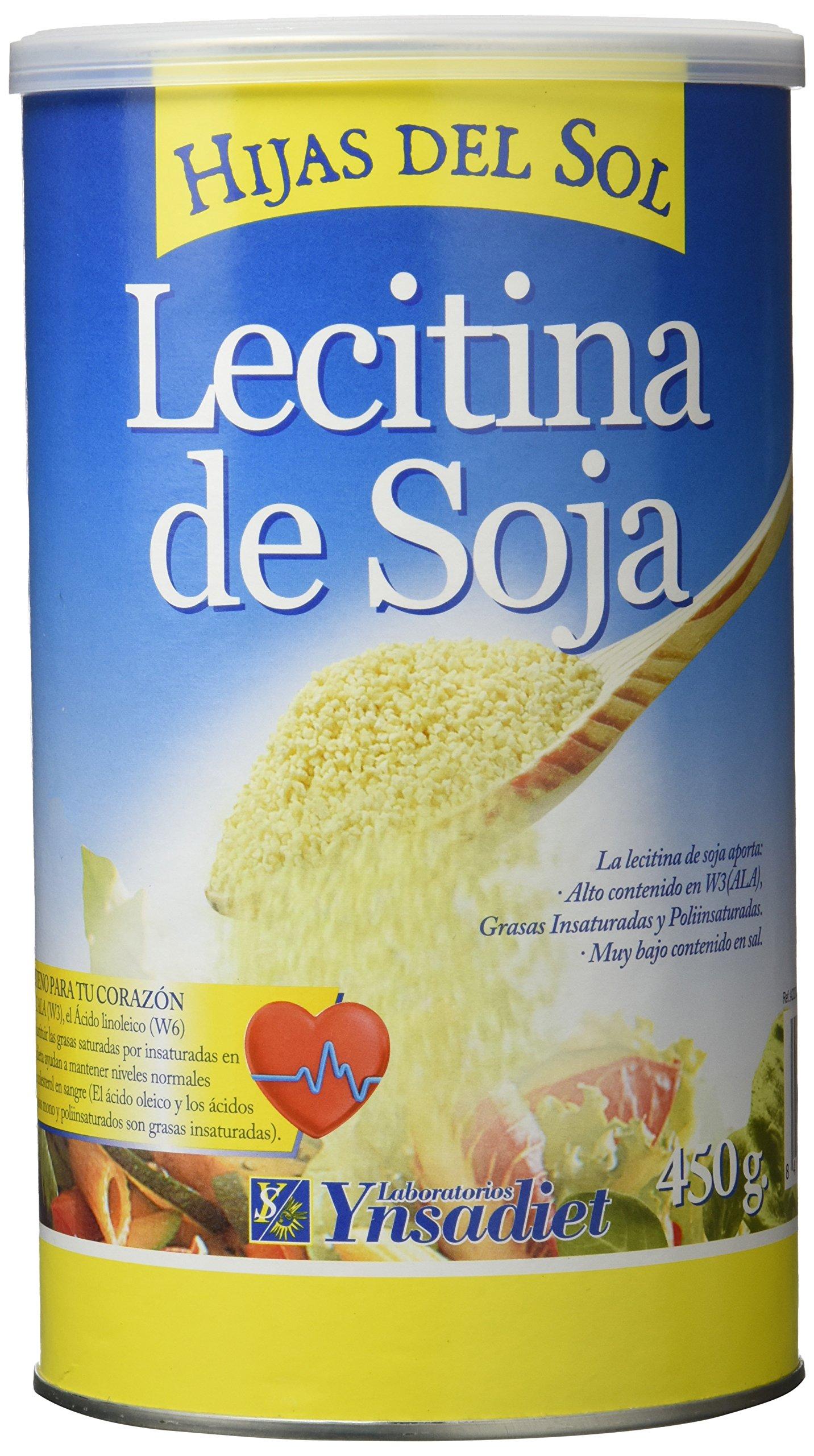 Ynsadiet LECITINA DE SOJA granulada 450gr.GMO HIJAS DEL SOL - 450 gr product image