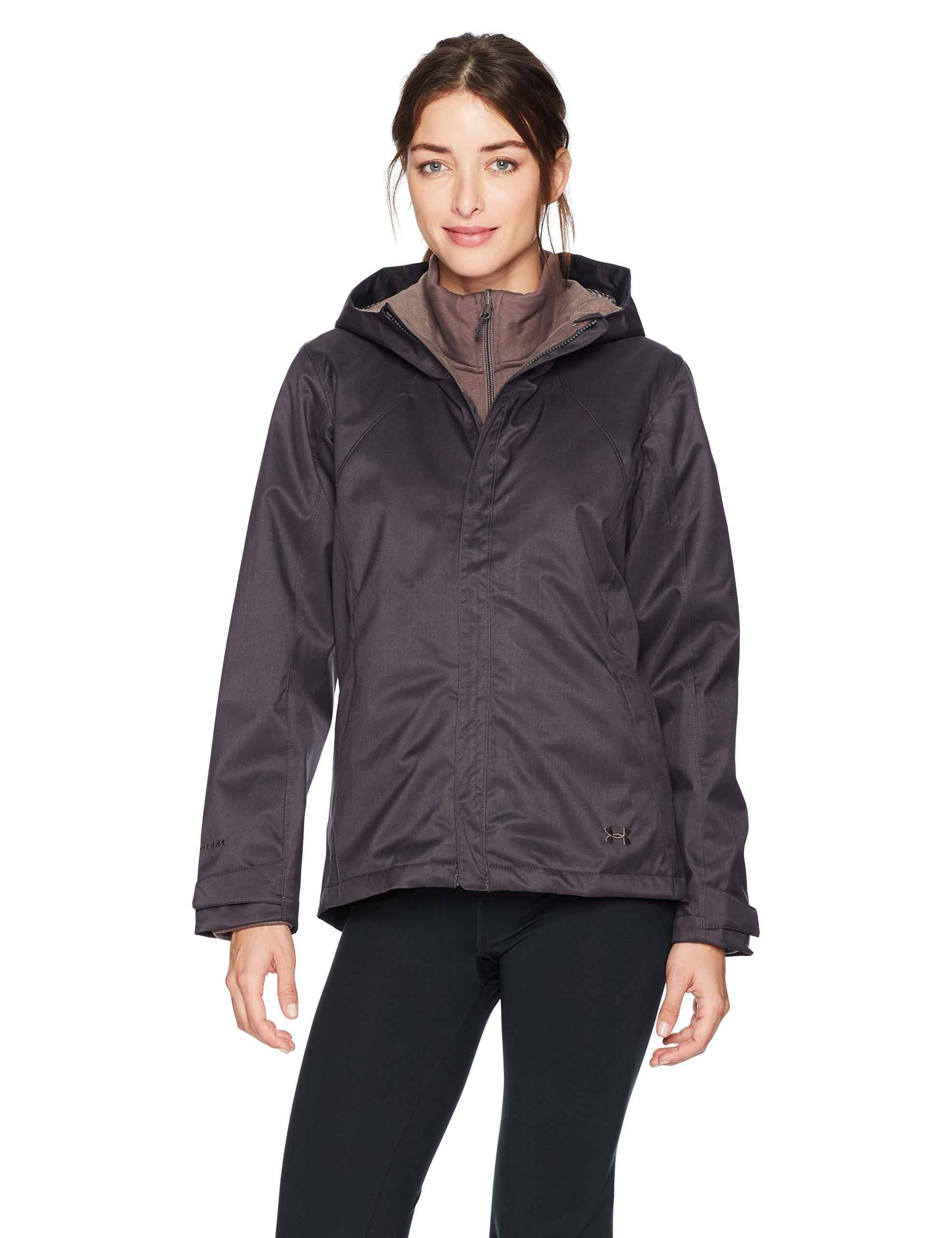 Under Armour Outerwear Under Armour Women's Sienna 3-In-1, Truffle Gray/Mocha, X-Large by Under Armour