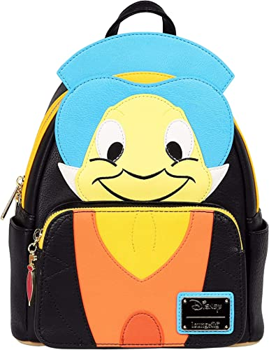 Loungefly Pinocchio Jiminy Cricket Faux Leather Mini Backpac Standard