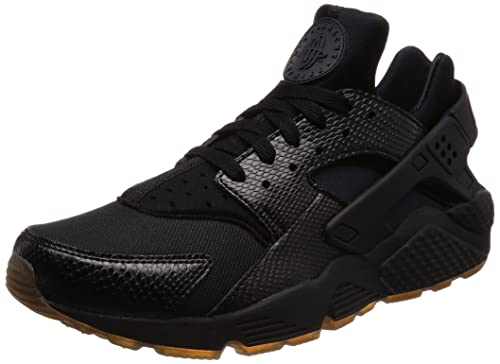 e72d3c78b911 NIKE Men s Air Huarache Black Elemental Gold Running Shoe 9.5 Men US  Buy  Online at Low Prices in India - Amazon.in
