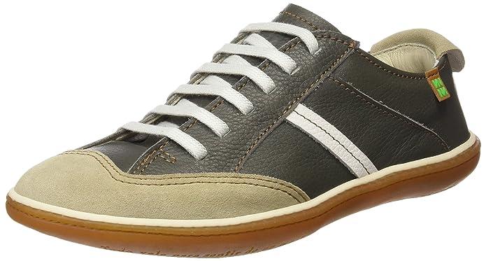 El Naturalista N275, Zapatos sin Cordones Unisex, Gris (Grafito-Piedra), 40