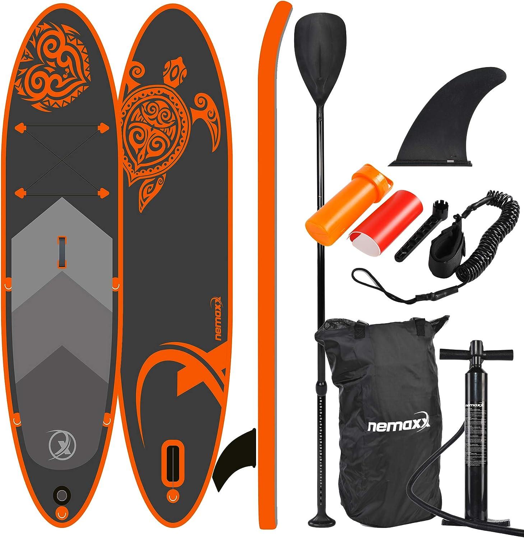 Nemaxx Tabla de paddel Surf Pack completo