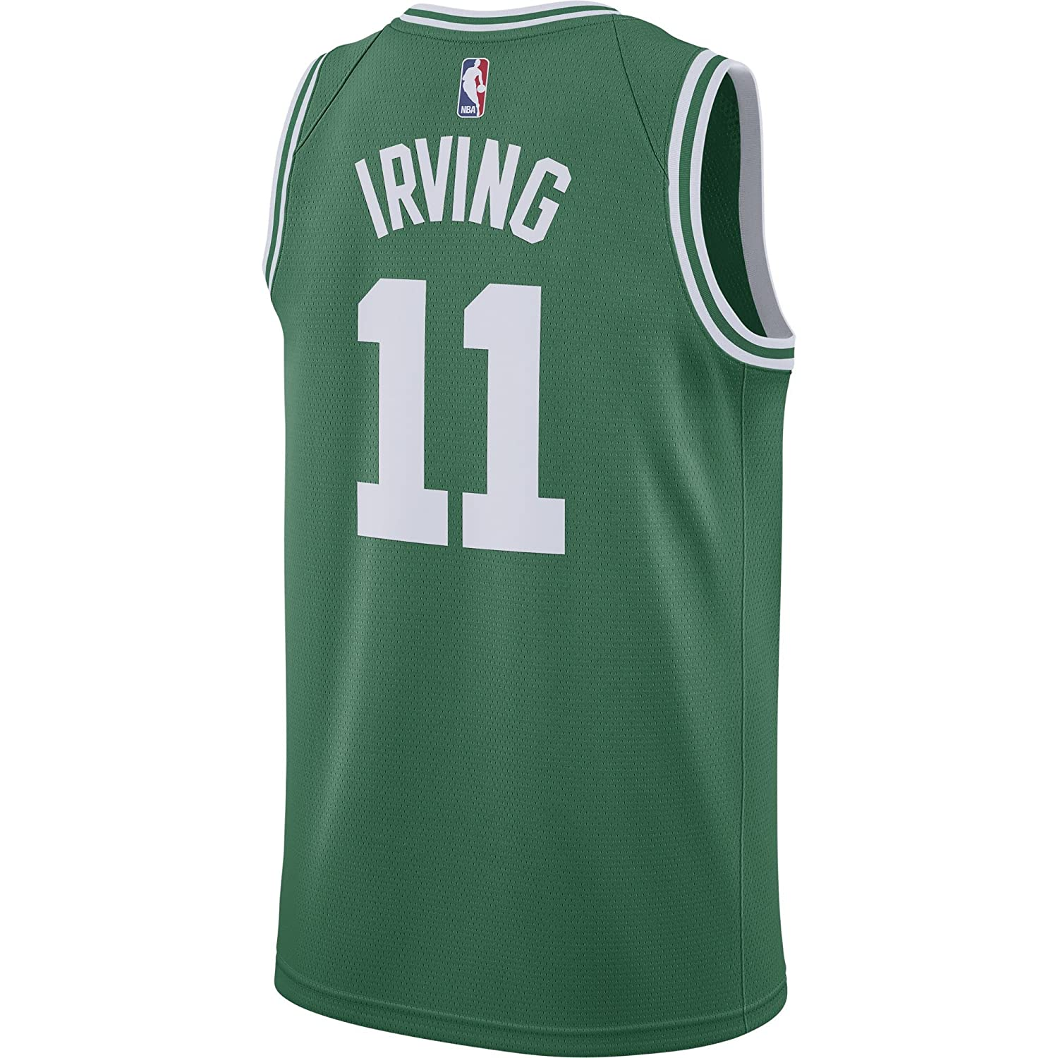 Nike NBA Boston Celtics Kyrie Irving 11 2017 2018 Icon Edition Jersey Oficial Away, Camiseta de Niño: Amazon.es: Ropa y accesorios