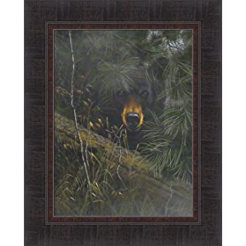 Amazon Com The Watcher By Derk Hansen 17x21 Black Bear