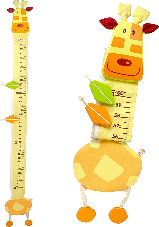 Kids Growth Height Chart Ruler Children Room Decor Wall Hanging Measure SH