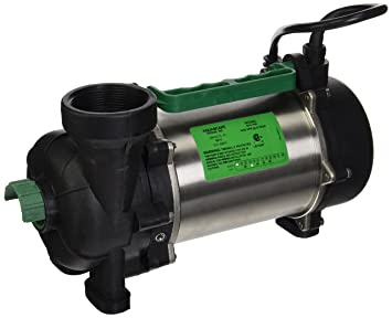 Aquascape 20004 AquascapePRO 7500 Submersible Pump For Ponds, Skimmer  Filters, And Pondless Waterfalls,