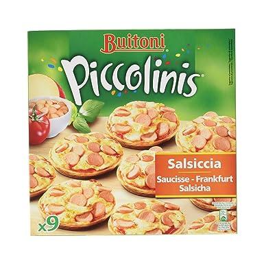 Buitoni - Piccolinis - Minipizza de Salsiccia y queso - 9 x 30 g