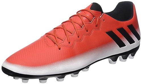 best website 32606 75ee8 Adidas Messi 16.3 AG, Botas de fútbol para Hombre, (Rojo Negbas ftwbla), 48  EU  Amazon.es  Zapatos y complementos