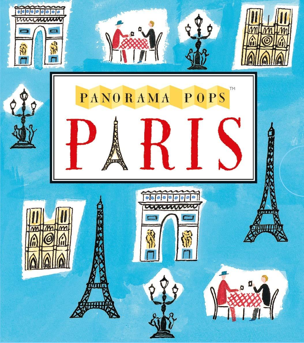 Paris  Panorama Pops  A Three Dimensional Expanding City Skyline