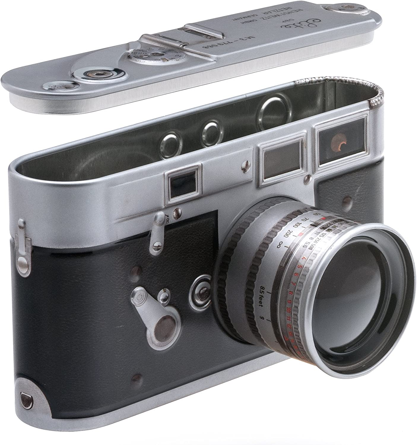 Unusual gifts for artists & tips for buying artists' gifts - camera tin