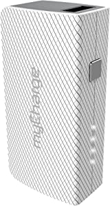 myCharge Portable Charger - AmpMini 2600 mAh Power Bank Ultra Slim External Battery Pack   Small, Light Compact Cell Phone Charger Backup for Apple iPhone, iPad & Android for Samsung Wireless Galaxy