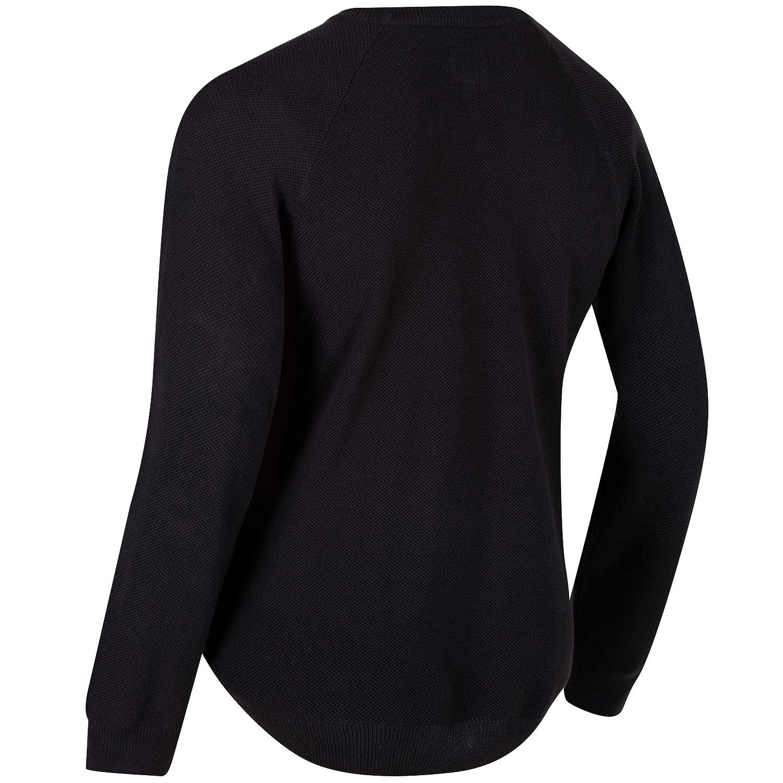Regatta Men/'s Kolten Crew Neck Cotton Knit Sweater Grey