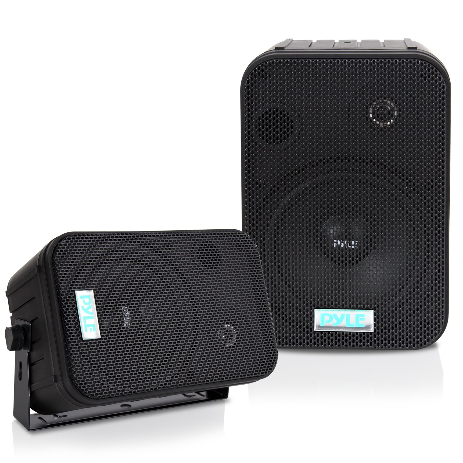 Pyle-Home Pdwr50b 6.5-Inch Indoor, Outdoor Waterproof Speakers (Black) (Discontinued by Manufacturer) Sound Around