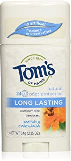 product image for Tom's of Maine, Natural Long Lasting Aluminum Free Deodorant - Soothing Calendula, 2.25 Ounce