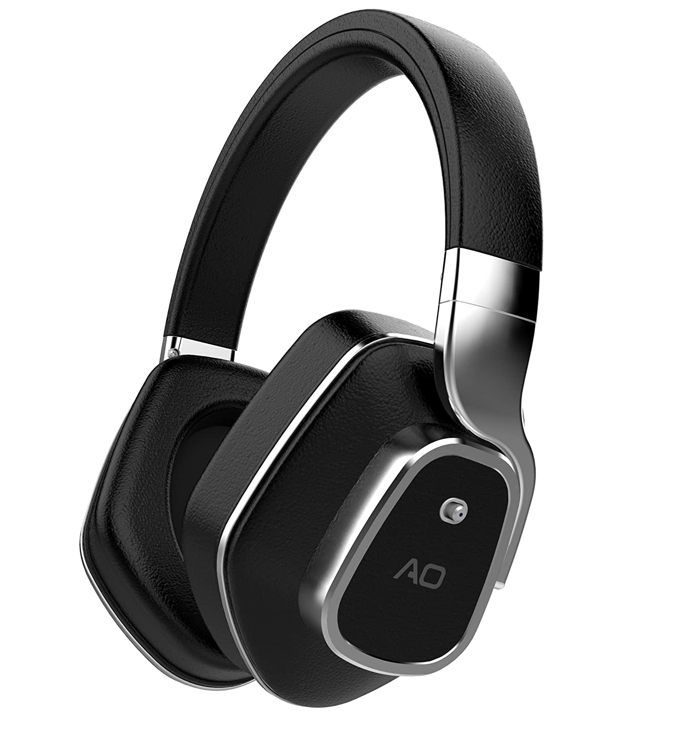 AO Active Noise Cancelling Wireless Bluetooth Headphones - M7 (Black)
