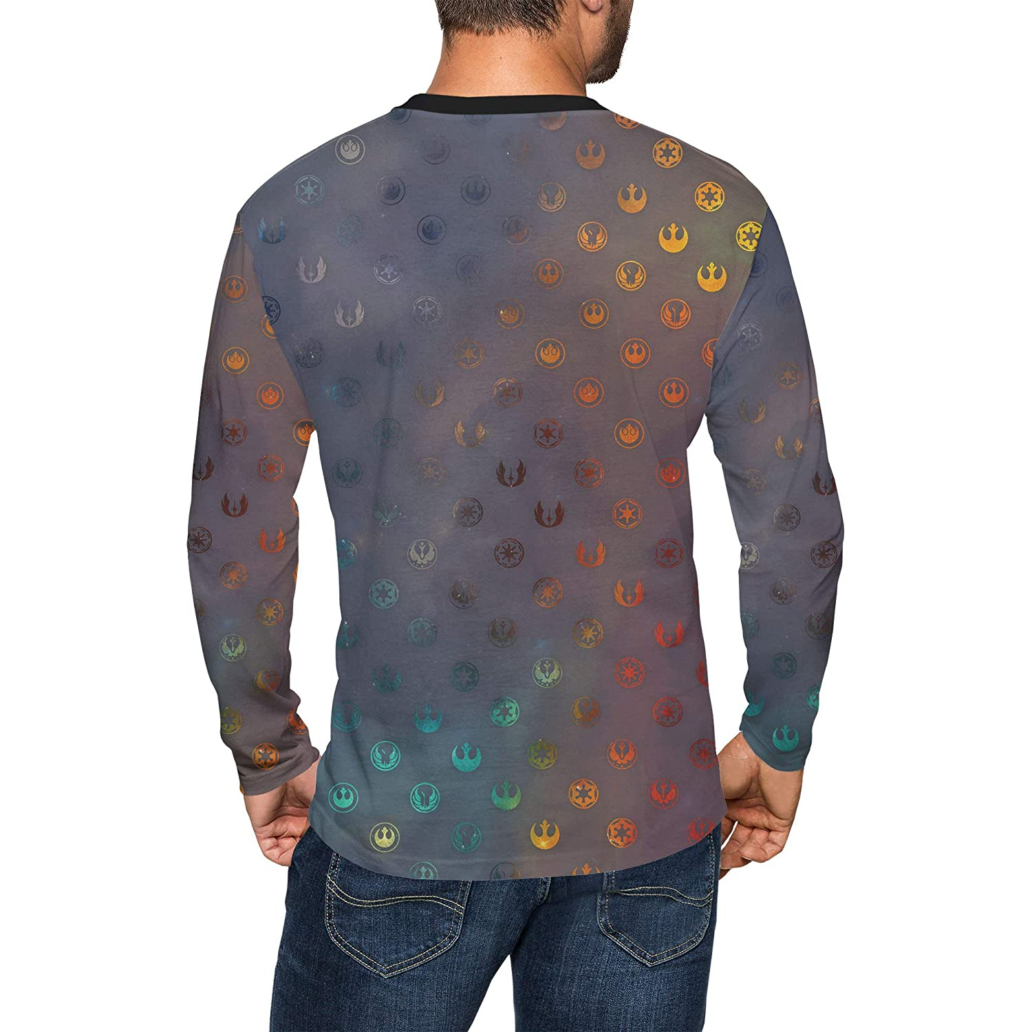Queen of Cases Galaxy Far Away Mens Longsleeve Tee
