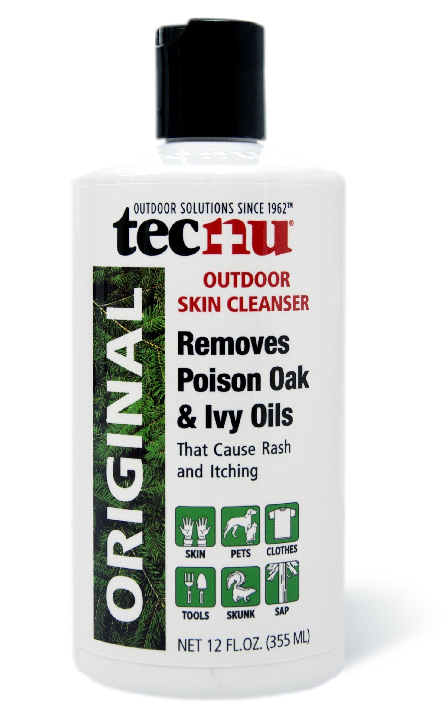 Tecnu Original Poison Oak & Ivy Outdoor Skin Cleanser, 12 Ounce