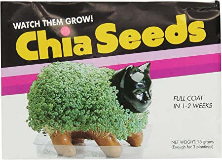 Chia Pet Planter Seeds Pack Of 3 Amazon Co Uk Garden Outdoors