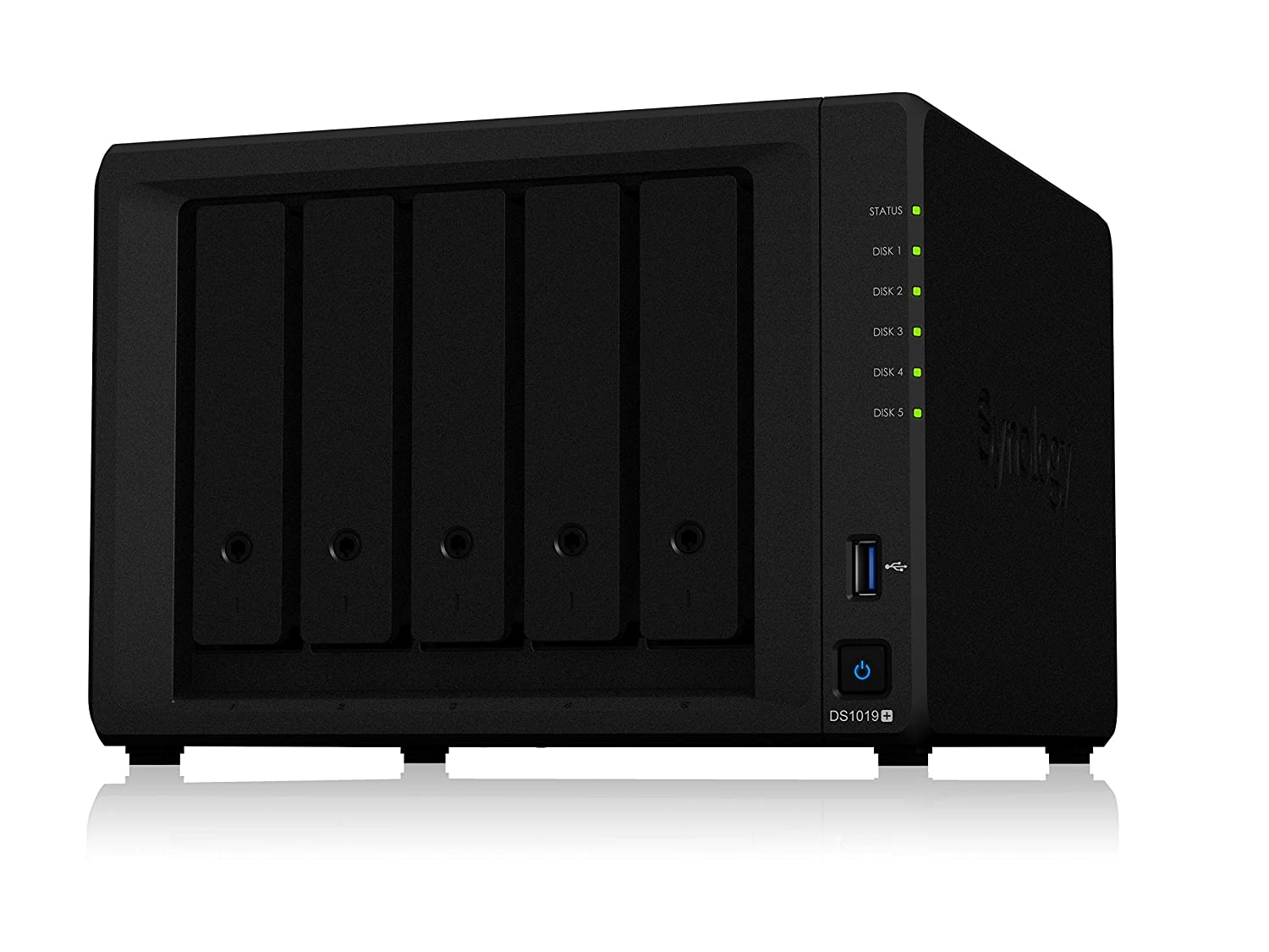 Synology 5 bay NAS DiskStation DS1019+ (Diskless)