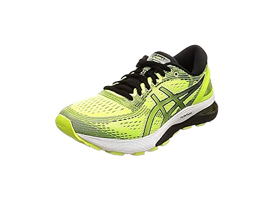 Asics Amarillo Zapatos Mid Grey Dark Grey Safety Para Correr
