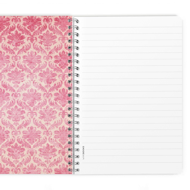 Bloc notes quaderno taccuino WIREBOOKS 5041 DIN A5 120 pagine 100g in carta bianco