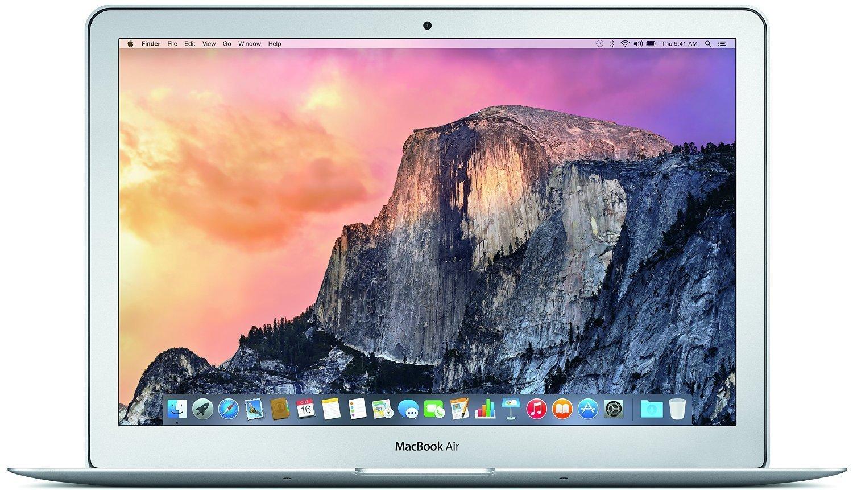 Apple MacBook Air 13.3-Inch Laptop (Intel Core i5 1.6GHz, 128GB Flash, 8GB RAM, OS X El Capitan) by Apple