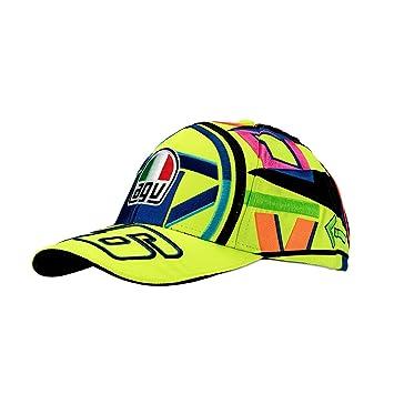 vr|46 Valentino Rossi Mujer Hombre Gorra De Béisbol – Casco Agv Diseño – Gorra