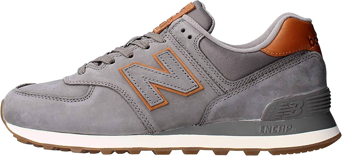 new balance 574 scamosciate