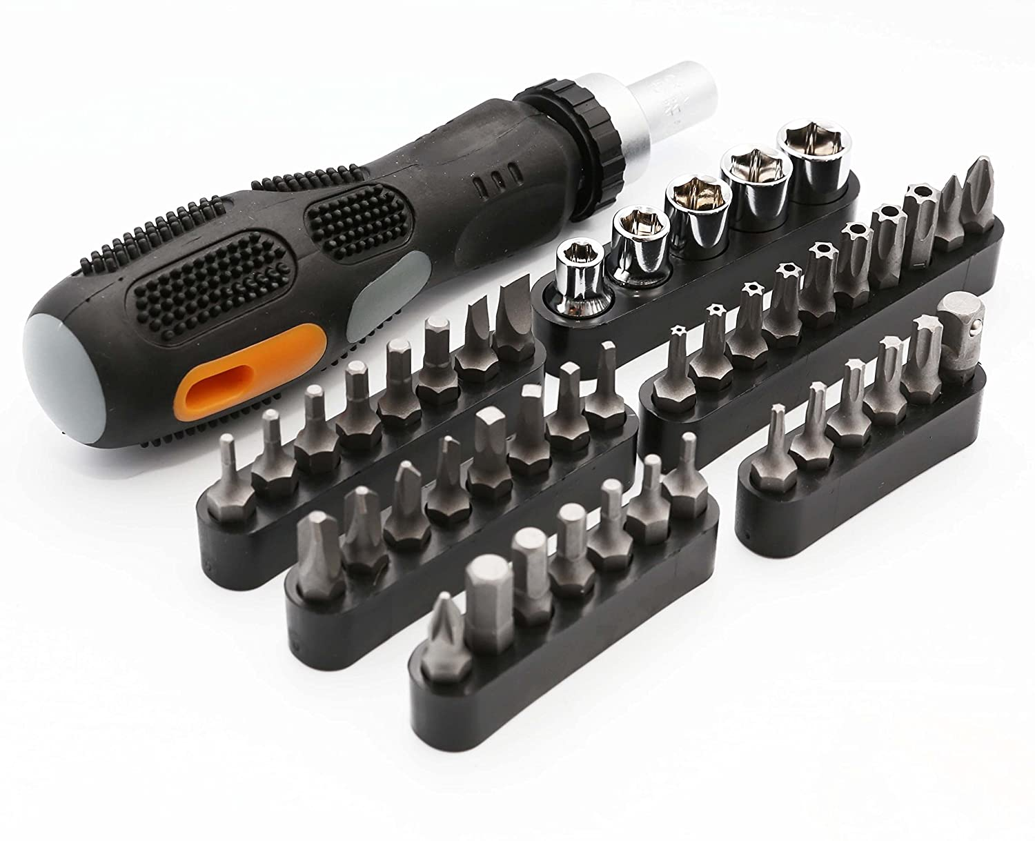 Amazon.com: 100 Piece Computer Technician Tool Kit for Repairing ...